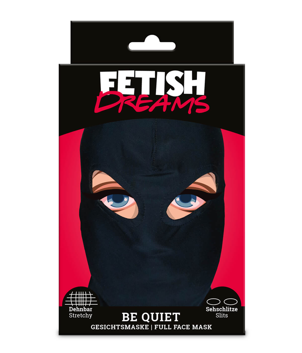 FETISH DREAMS MASKE BE QUIET