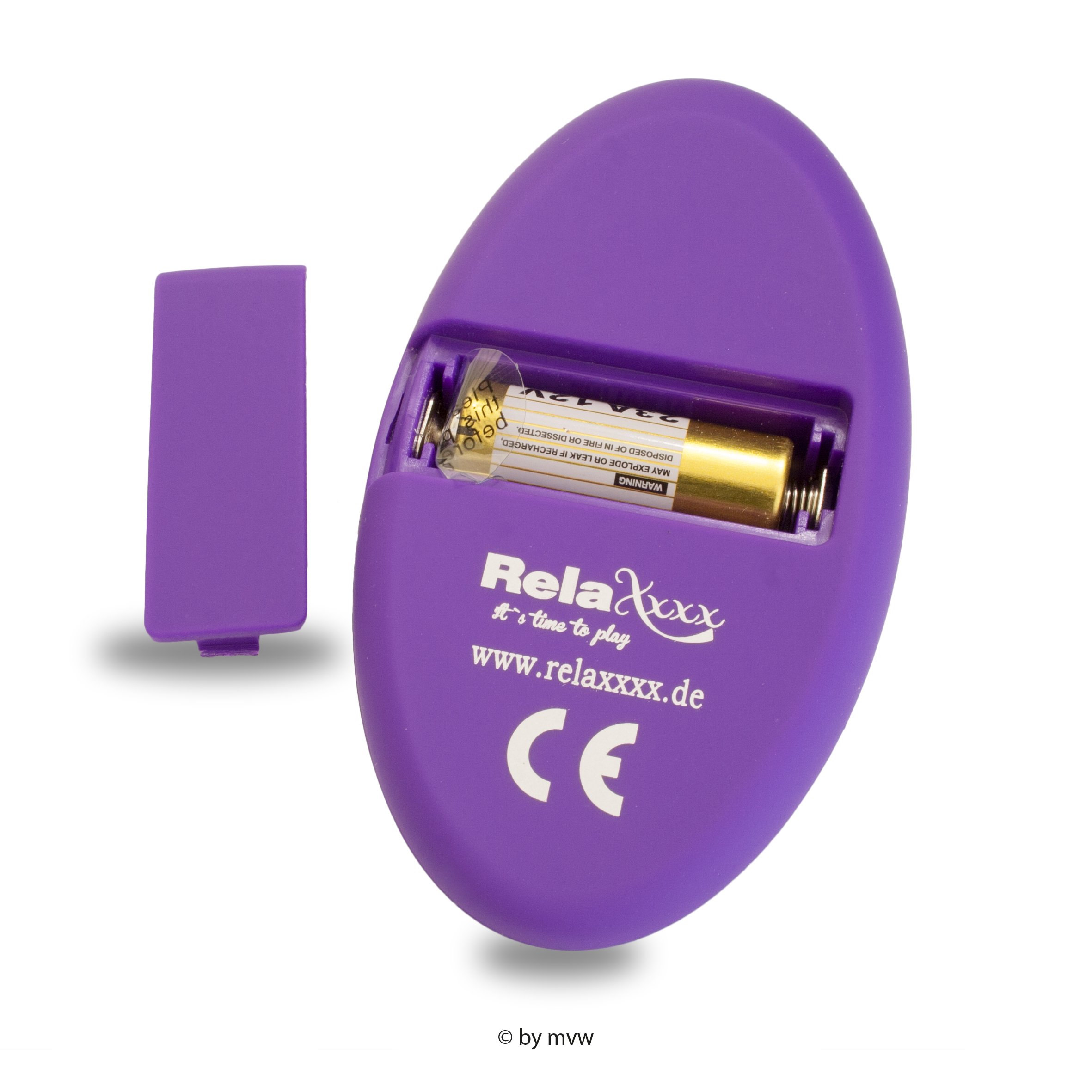 RelaXxxx Remote Egg Purple
