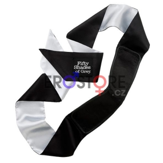 50 Shades of Grey saténová páska na oči - Satin Deluxe Blindfold