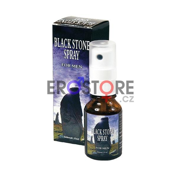 Sprej na oddálení ejakulace - Black stone spray 15 ml